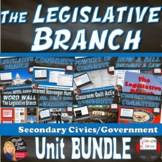BUNDLE – The Legislative Branch (Congress) Unit (CIVICS)