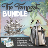 The Tempest, by William Shakespeare - for Elementary & Middle School - BUNDLE