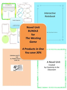 BUNDLE: The Westing Game  4 Products in 1