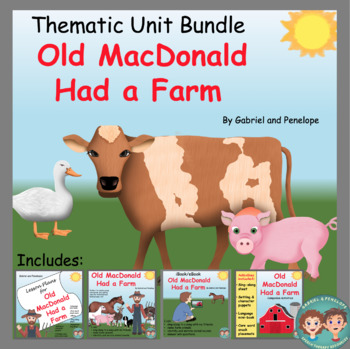 BUNDLE Thematic Unit Old MacDonald Had a Farm