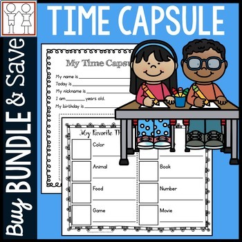 BUNDLE: Time Capsule Beginning of the Year