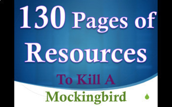 To Kill A Mockingbird EDITABLE BUNDLE: Board Work, Quizzes, Essays, Notes & MORE