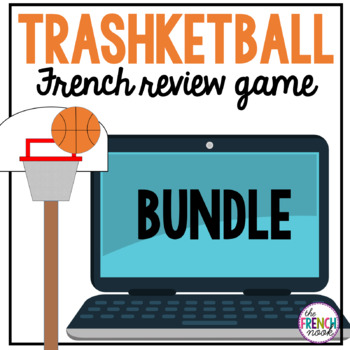 BUNDLE- Trashketball French review games