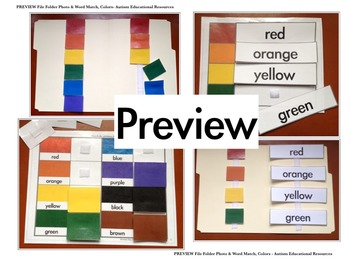 BUNDLE: Twelve File Folder Activities about Colors, Shapes, and Numbers