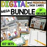 BUNDLE UNITS 1-6 PRINTABLE TASK CARDS