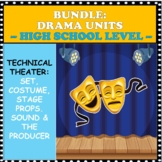 BUNDLE:  UNITS IN COSTUME/ STAGE PROPS/ SET AND SOUND DESI