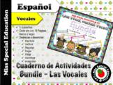 DOLLAR DEALS: Tarea de las Vocales - BUNDLE  (Español/Span