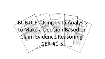 BUNDLE-Using Data Analysis to Make a Decision-Claim/Evidence/Reasoning-CER-#1-5