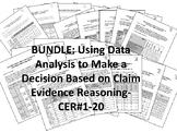 BUNDLE-Using Data Analysis to Make a Decision-ClaimEvidenceReasoning-CER-#1-20