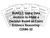 BUNDLE-Using Data Analysis to Make a Decision-ClaimEvidenceReasoning-CER-#6-10