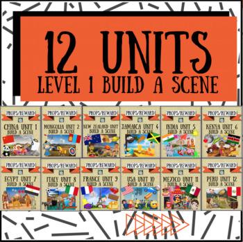 BUNDLE VIP Level 1 - 12 Units Build a Scene Reward/Props