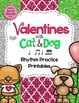 BUNDLE Valentines with Cat and Dog {Interactive Rhythm Games}