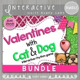 BUNDLE Valentines Rhythm Game - Smart Board Games
