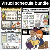 BUNDLE: Variety of classroom, tasks and behavior visual schedules
