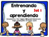 BUNDLE Video PowerPoint de Palabras de uso frecuente Sight Word Exercise Spanish