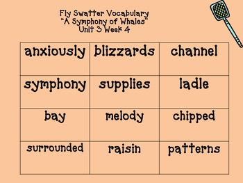 BUNDLE: Vocab Fly Swatter Game All Units