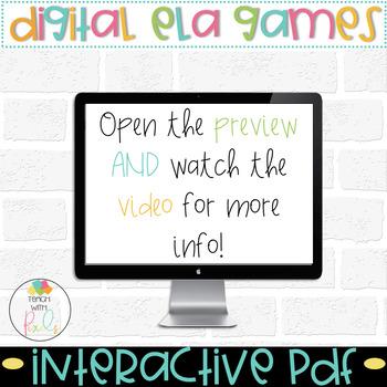 DIGITAL Short Vowel Task Cards | All Vowels Vol.1