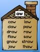 BUNDLE: Vowel Pairs Families Word Family Cut, Paste & Read