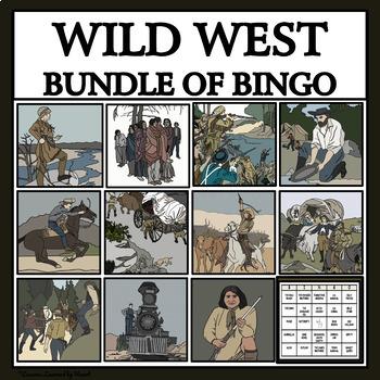 BUNDLE: WILD WEST READING PASSAGES AND BINGO
