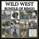 WILD WEST READING PASSAGES AND BINGO - BUNDLE