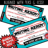 BUNDLE ~ WRITING READY 4th Grade Task Cards -  Categorizing & Organizing Ideas