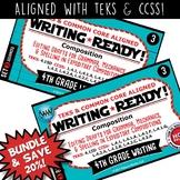 BUNDLE ~ WRITING READY 4th Grade Task Cards – Editing Drafts {TEKS-aligned}