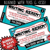 BUNDLE ~ WRITING READY 4th Grade Task Cards – Editing Drafts