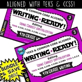 BUNDLE ~ WRITING READY 4th Grade Task Cards – Using Correc