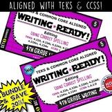 BUNDLE ~ WRITING READY 4th Grade Task Cards – Using Correc
