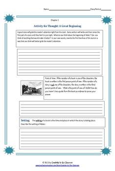 BUNDLE: Weasel Novel Unit Plus Grammar AND Graphic Organizers