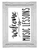 BUNDLE Welcome to the Music Band Orchestra Chorus Choir Sign Poster Rae Dunn