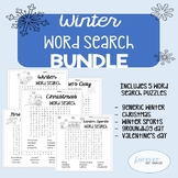 BUNDLE - Winter Word Search Pack