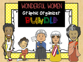 BUNDLE : Wonderful Women of History Graphic Organizers - SET 1