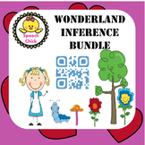 Inference Speech Therapy Activity- Wonderland Theme Bundle