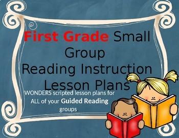 BUNDLE Wonders Grade 1 U1 Small Group Reading Instruction Unit Lesson Plans