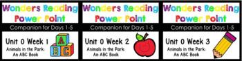 BUNDLE Wonders Unit 0 Power Points Week 1-3