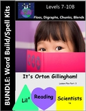 BUNDLE: Word Building with Floss Rule, Digraphs, Chunks, and Blends (OG)