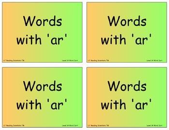 BUNDLE: Word Sort Kits (OG)