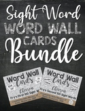 BUNDLE - Word Wall Cards (Chevron): Fry's First and Second