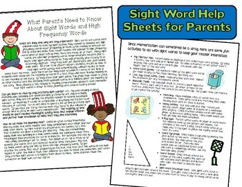 BUNDLE:  Word Wall & Sight Word Resource Packets (Kids & School Theme)