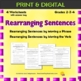BUNDLE - Working with Sentences - Grade 2 - 18 worksheets - 4 resources - CCSS