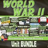 World War 2 BUNDLE (Secondary World History) SAVE $$$