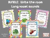 BUNDLE:  Write the Room, Long Vowels a/e/i/o/u