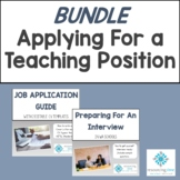 BUNDLE:Job Application Guide + Interviews For WA Schools