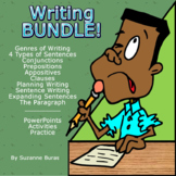 BUNDLE!  Writing: From Phrase to Paragraph