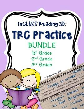 BUNDLE Written Comprehension Practice (Grades 1 - 3) mCLASS: TRC