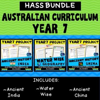 BUNDLE - Year 7 Ancient History, Australian Curriculum, HASS