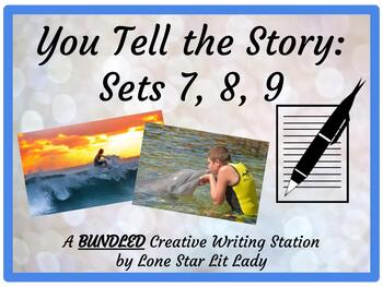 BUNDLE - You Tell the Story: A Creative Writing Station - Sets 7-9