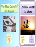 BUNDLE - Your Most Colourful Life Planner & Gratitude Journal for Adults