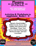 BUNDLE for Books 1 to 6 to Supplement Wilson Reading NOT E
